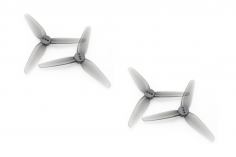 HQ Propeller HeadsUpTinny T3x1,8x3 mit 2mm Welle aus Poly Carbonate in grau transparent je 2xCW+ 2xCCW