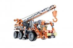 Cada Klemmbausteine -  Kran LKW- Pullback-Antrieb (Rückzieh-Antrieb) - 272 Teile