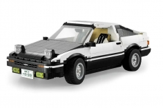 Cada Klemmbausteine - 1986er Super Auto - optional aufrüstbar mit RC Set - 1234 Teile