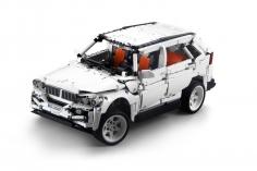 Cada Klemmbausteine - G5 Off Road Auto- optional aufrüstbar mit RC Set (Fernsteuerung und Antriebsset) - 2208 Teile