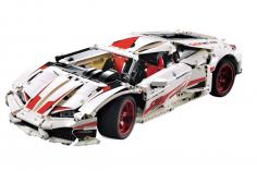 Cada Klemmbausteine - LP610 Supersport Auto - optional aufrüstbar mit RC Set - 1696 Teile