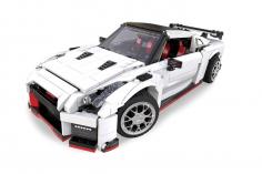 Cada Klemmbausteine - R35 Super Auto - optional aufrüstbar mit RC Set - 1322 Teile