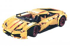 Cada Klemmbausteine - Umbauset für LP610 Supersport Auto - 283 Teile