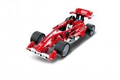 Cada Klemmbausteine - Formel 1 Auto- Pullback-Antrieb (Rückzieh-Antrieb) - 144 Teile