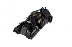 Cada Klemmbausteine -  Wild Chariots Auto- Pullback-Antrieb (Rückzieh-Antrieb) bestehend aus 212 Teilen