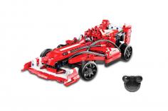 CaDa Klemmbausteine -Formula Auto - RC Set RTR mit Fernsteuerung und Antriebsset bestehend aus 317 Teilen