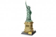 Wange Klemmbausteine - Freiheitsstatue New York - 1577 Teile
