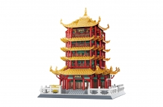 Wange Klemmbausteine - Pagode des gelben Kranichs Wuhan - 2912 Teile