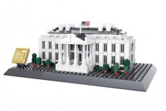 Wange Klemmbausteine - Das Weiße Haus Washington - 770 Teile