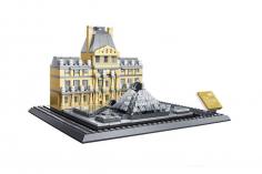 Wange Klemmbausteine - Louvre Paris - 785 Teile