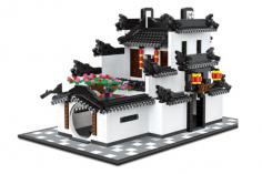 Wange Klemmbausteine - Wohnhaus im Hui Stil - 1575 Teile