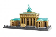 Wange Klemmbausteine - Brandenburger Tor Berlin - 1552 Teile