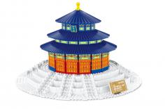 Wange Klemmbausteine - Himmelstempel Peking - 973 Teile
