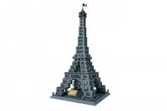 Wange Klemmbausteine - Eiffelturm - 978 Teile