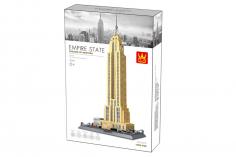 Wange Klemmbausteine - Empire State Building - 1995 Teile