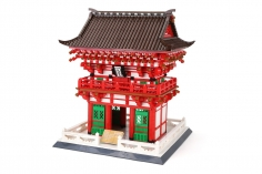 Wange Klemmbausteine - Kiyomizu-dera Tempel Kyoto - 2409 Teile