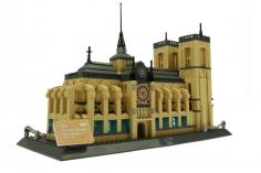 Wange Klemmbausteine - Notre Dame Paris - 1380 Teile