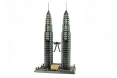 Wange Klemmbausteine - Petronas Towers Kuala Lumpur - 1175 Teile