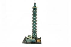 Wange Klemmbausteine - Taipei 101 Taiwan - 1512 Teile