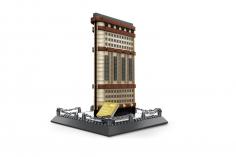 Wange Klemmbausteine - Flatiron Building New York - 838 Teile