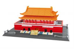 Wange Klemmbausteine - Tor des Himmlischen Friedens Peking - 770 Teile