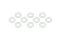 Unterlegscheibe aus Kunststoff 1,4x3x0.3mm