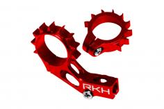 Rakonheli Heckmotorhalterung Alu in rot für Blade 120 S und 120 S2