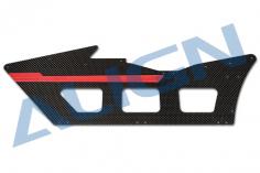 Align Carbon Chassisplatte links für T-REX 650X
