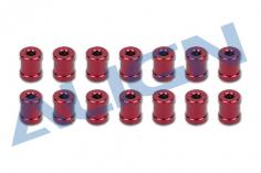 Align Chassis Verbindungsbolzen in rot für T-REX 650X