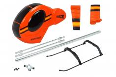 Microheli Scale Rumpf Hughes 300 in orange für Blade 230S und 230S V2