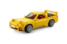 Cada Klemmbausteine - FD3S RX-7 gelb - optional aufrüstbar mit RC Set - 1655 Teile