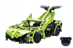 CaDa Klemmbausteine – Sports Car - RC Set RTR mit Fernsteuerung und Antriebsset - 453 Teile