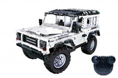 CaDa Klemmbausteine – Crawler - RC Set RTR mit Fernsteuerung und Antriebsset - 533 Teile