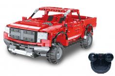 CaDa Klemmbausteine - Pickup F150 - RC Set RTR mit Fernsteuerung und Antriebsset - 533 Teile