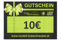 Geschenkgutschein 10€ PDF zum selbst ausdrucken