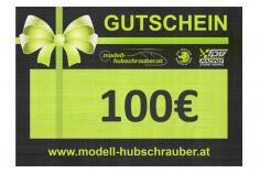 Geschenkgutschein 100€ PDF zum selbst ausdrucken