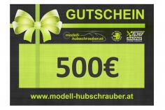 Geschenkgutschein 500€ PDF zum selbst ausdrucken