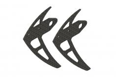 Mikado Seitenleitwerk Carbon, LOGO 200