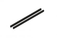 Mikado Heckrohr Aluminium schwarz, LOGO 200