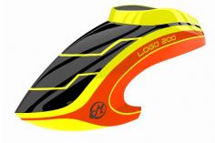 Mikado Haube LOGO 200 neon-gelb/neon-orange