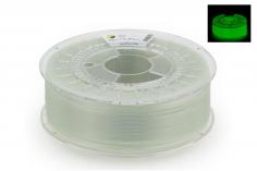 Extrudr Filament PETG (Polyethylenterephthalat glykolmodifiziert) in glowEX (glow in the dark) Ø 1,75mm 0,8Kilo