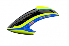 Mikado Haube LOGO 550 SE V3, neon-gelb/blau