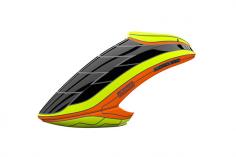 Mikado Haube LOGO 550, neon-gelb/orange