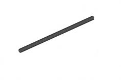 Mikado Heckrohr Ø22x690mm, LOGO 550 SE