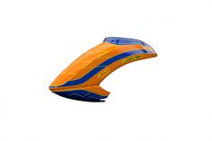 Mikado Haube LOGO 550 neon-orange/blau