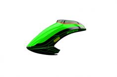 Mikado Haube LOGO 550 neon-grün/schwarz