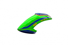 Mikado Haube LOGO 550 neon-grün/blau