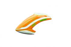 Mikado Haube LOGO 550 neon-orange/weiß