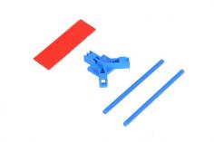 Mikado Antennenhalter flach, blau