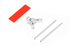 Mikado Antennenhalter flach, weiß